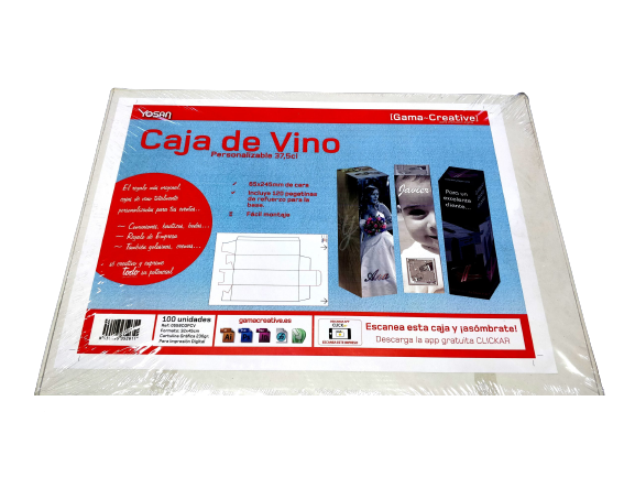 caja de vino personalizable