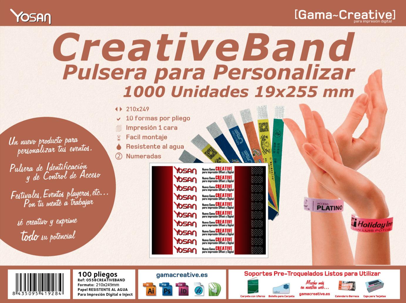 portada caja pulseras creative