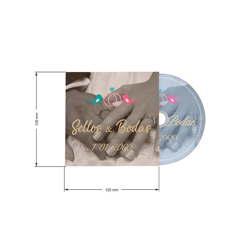 Caratula CD Cartulina 230g