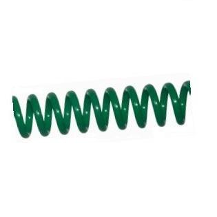 Espiral de Plástico Verde Vidrio