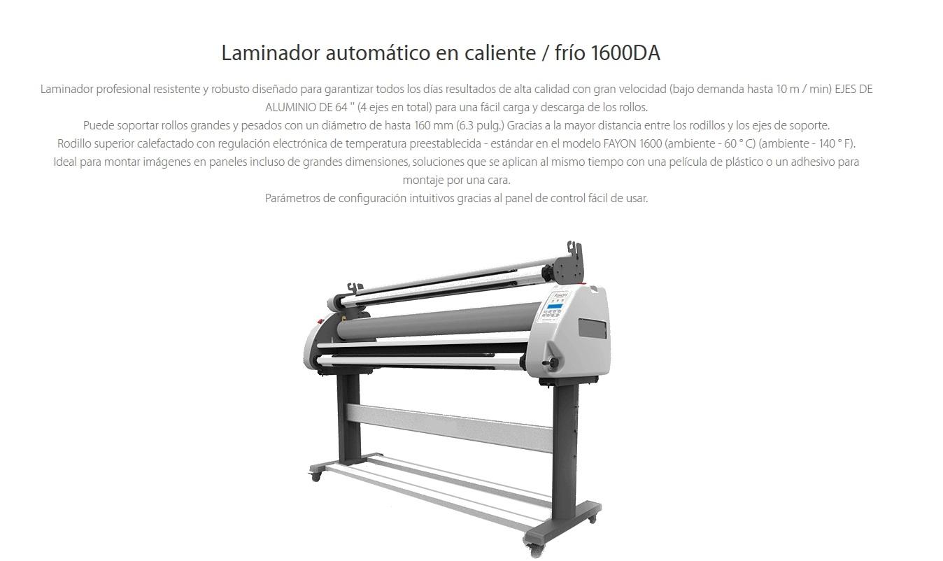 laminadora da1600