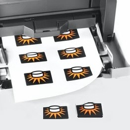 papel magnetico inkjet imprimible