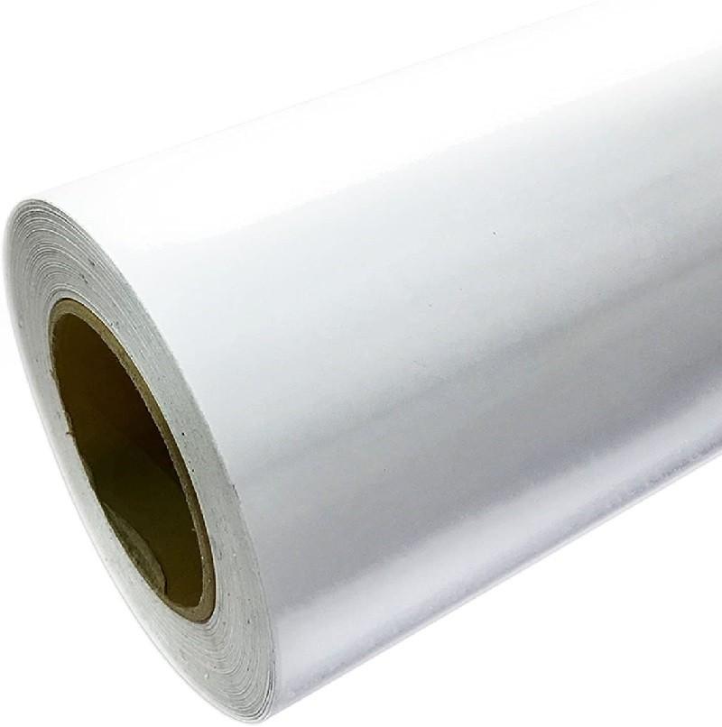 PVC brillo 2 caras blanco