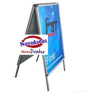 Caballete publicitario de aluminio Stand