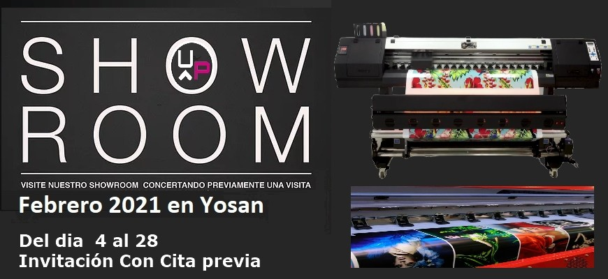 Showroom uviprint
