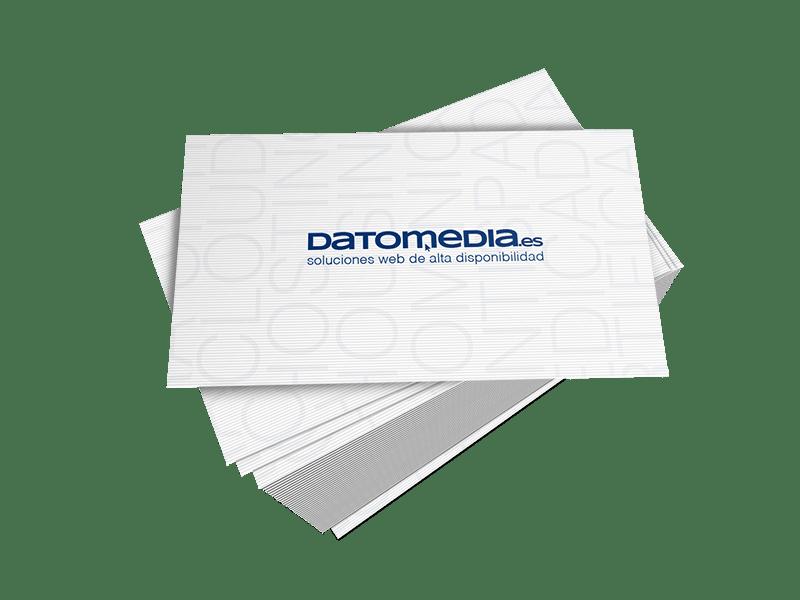 tarjetas de visita verjurado blanco