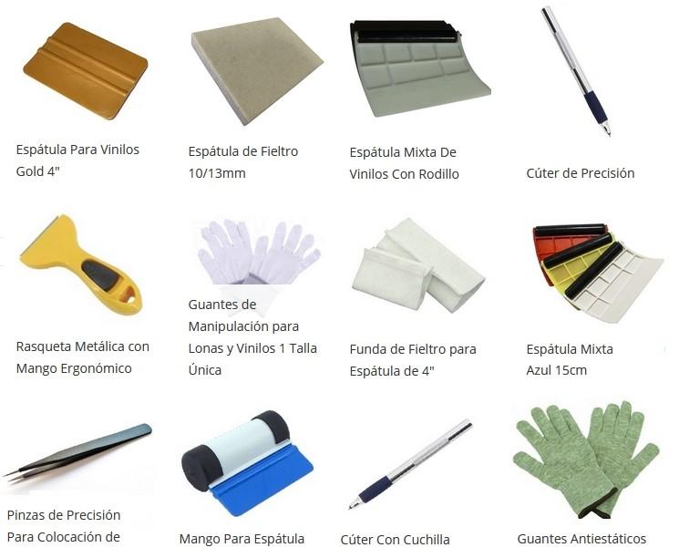 vinilos herramientas