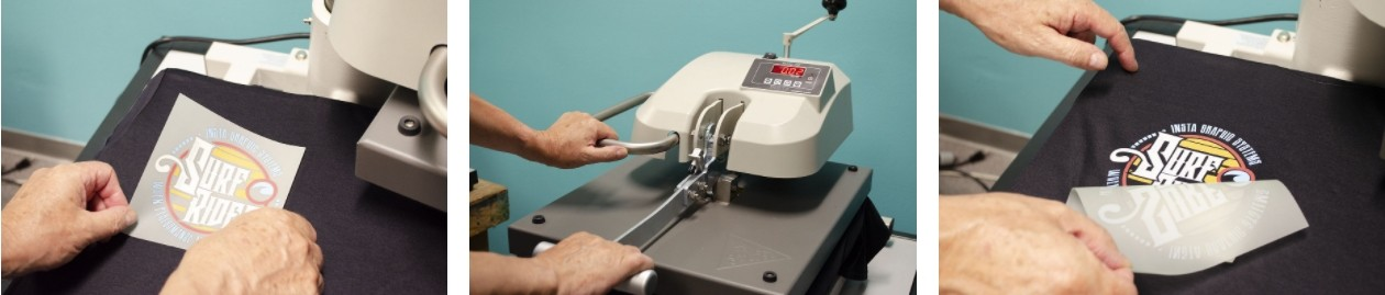metodo de transferencia termica del vinilo textile imprimible