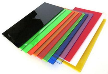 mecrilato de colada en colores